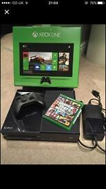 Xbox one for sale with forza horizon 3