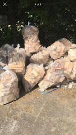 Fire wood bags £4