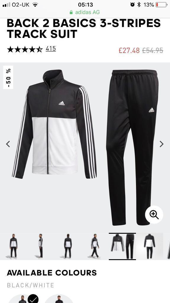 Adidas Tracksuit Large Brand New Men's Clothing
