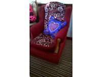 fireside chair excellent condition
