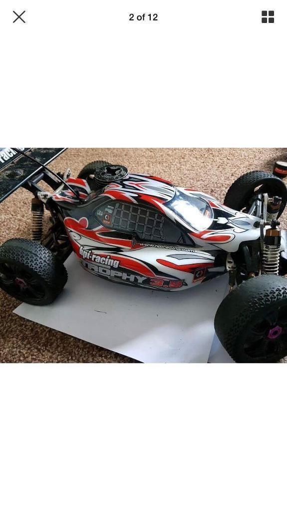 Hpi trophy 3.5 1/8 scale rc nitro car