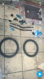 Lots of bike parts for sale