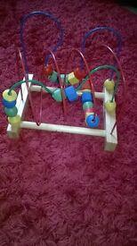 rollercoaster beadie toy
