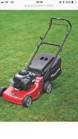 Mountfield 125cc lawn mower near new
