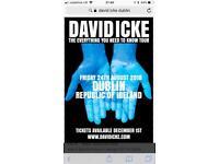 David Icke tickets Dublin 24th August