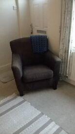 Ikea Ekenas Brown Armchair