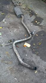 jaguar x type exhaust midsection from 2005 estate car