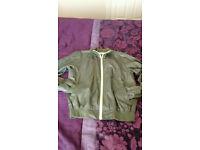 Dark Green Jacket for sale, Windcheater Water Repellent Windproof Jacket .£10