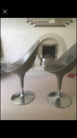 Designer Italian chairs 1970s