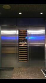 Brand new sub zero fridge freezer and wine cooler gaggenau appliance