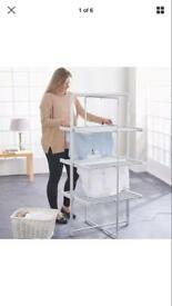 Eletric tower airer