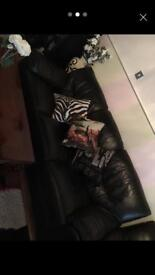 3 Leather sofas for sale Bargain Collection only