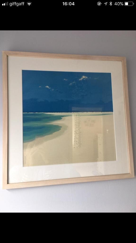 Framed John Miller Print