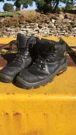 Timberland pro series metal free boots size 10