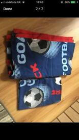Football quilt and pillow set