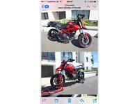 2010 Ducati Hypermotard 796 Red