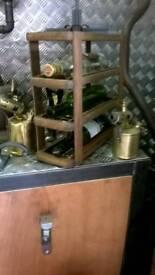 Upcycled wine / bottle racks