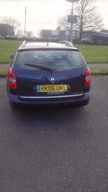 2006 renault laguna for sale cheap price very good conditions 5 seater car long MOT