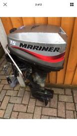 MARINER 15HP OUTBOARD MOTOR
