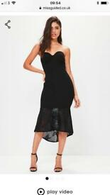 Black miss guided dress