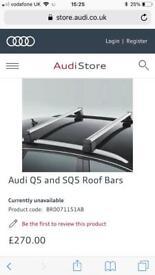 Audi Q5 s line roof rack 2015 model
