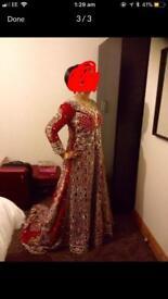 Wedding lengha, wedding dress, bridal wear