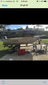4m seajay tinnie 40hp Yamaha Waterford Logan Area Preview
