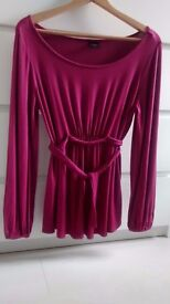 MATERNITY LONG SLEEVE TOP size 14