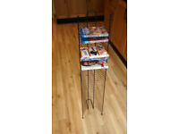 Metal framed DVD / BluRay rack – 50 disc capacity