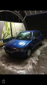 2002 Peugeot 106 1.1 petrol