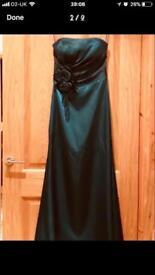 Beautiful formal /dinner dance / evening dress size 10