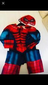 Marvel Spider-Man costume 3-4yr