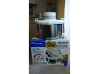 ICE CREAM MAKER BY PANASONIC, (USED BUT IN GOOD CONDITION)