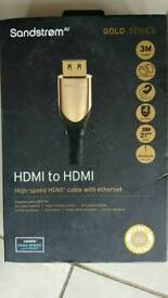 Sandstrom HDMI to HDMI high speed cable