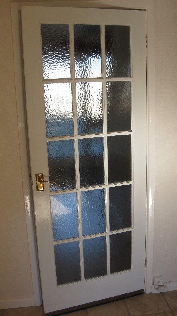 Internal Door With Obscure Glass Panels In Yate Bristol Gumtree