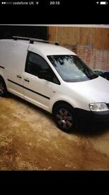 Volkswagen Caddy White Van, £2100 Ono, MOT till Sept, very good runner, handsfree, roof rack