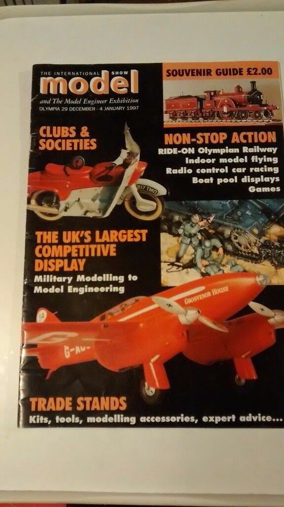 THE INTERNATIONAL MODEL AND ENGINEER EXHIBITION 1997 SOUVENIR GUIDE OLYMPIA 29 DEC – 4 JAN 1997