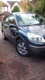 Renault Grand Scenic 7 seater, serviced and MOT'd with service history
