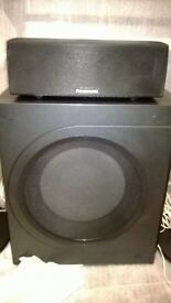 Panasonic surround sound speakers
