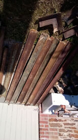 Cast iron guttering,hoppers,downpipes-assorted-CHEAP!
