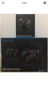 Logitech G29 Steering Wheel with Shifter Warranty Receipt Included PS4 PS3 PC Compatible