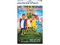 Jack and the beanstalk x 2 plus Hotel (Marriot Glasgow)