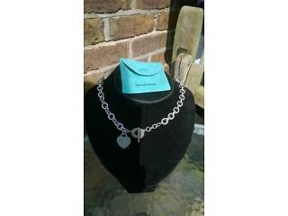 Tiffany & co choker chain