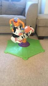 Fisher price bounce n spin