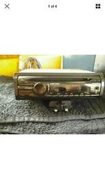Sony CDX GT26 stereo with front aux port