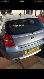 BMW 1 Series -Silver Blue