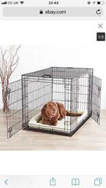 Pet cage. Foldable