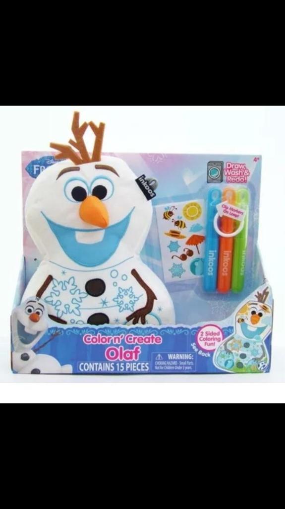 Brand New In Box Disney Frozen Olaf Inkoo Toy