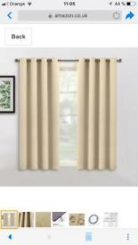 Window panel curtains (2 panels set) also available as 1 for half the price