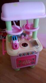 Kids Gourmet Kitchen with Accessories